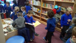 picking books