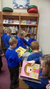 picking out books 2
